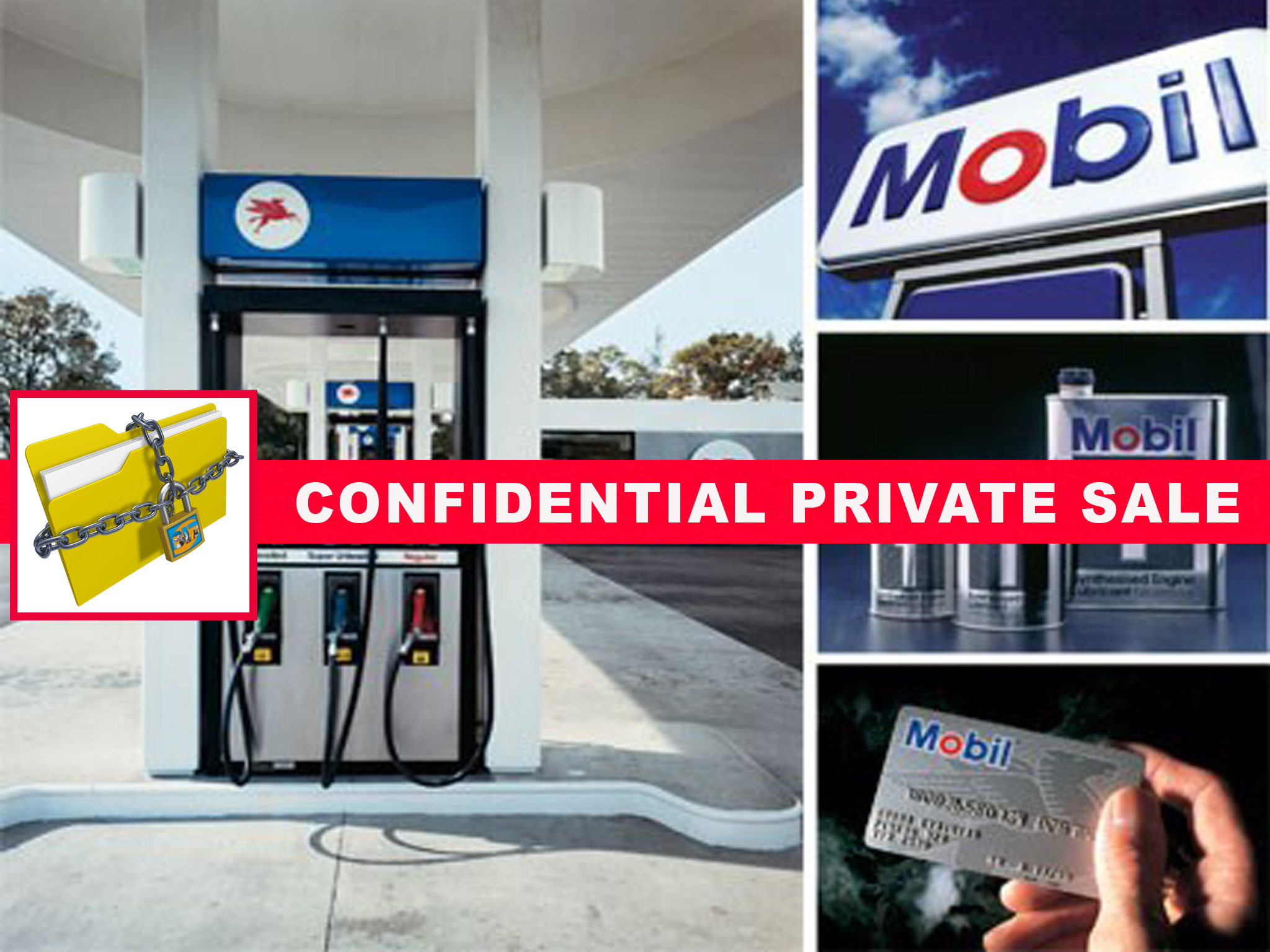 Brand New Mobil Station Circle K + Real Estate! | BIZ