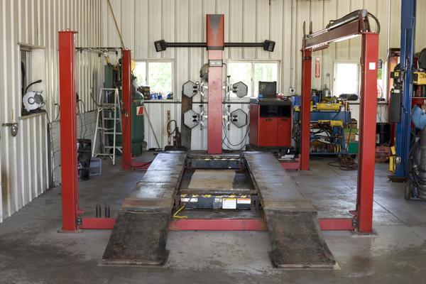Auto Mechanic Shop Corner Lot Available Biz Builder Com