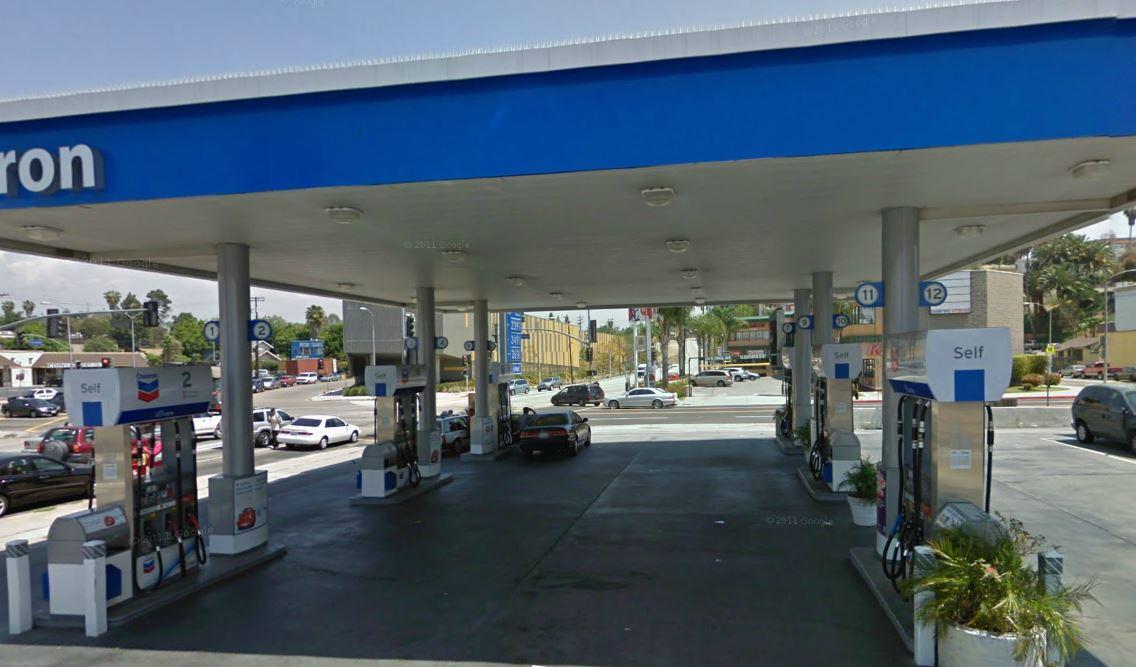 Chevron Station With Prime Real Estate La Biz Builder Com