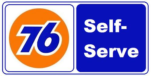 current union 76 station disneyland vicinity