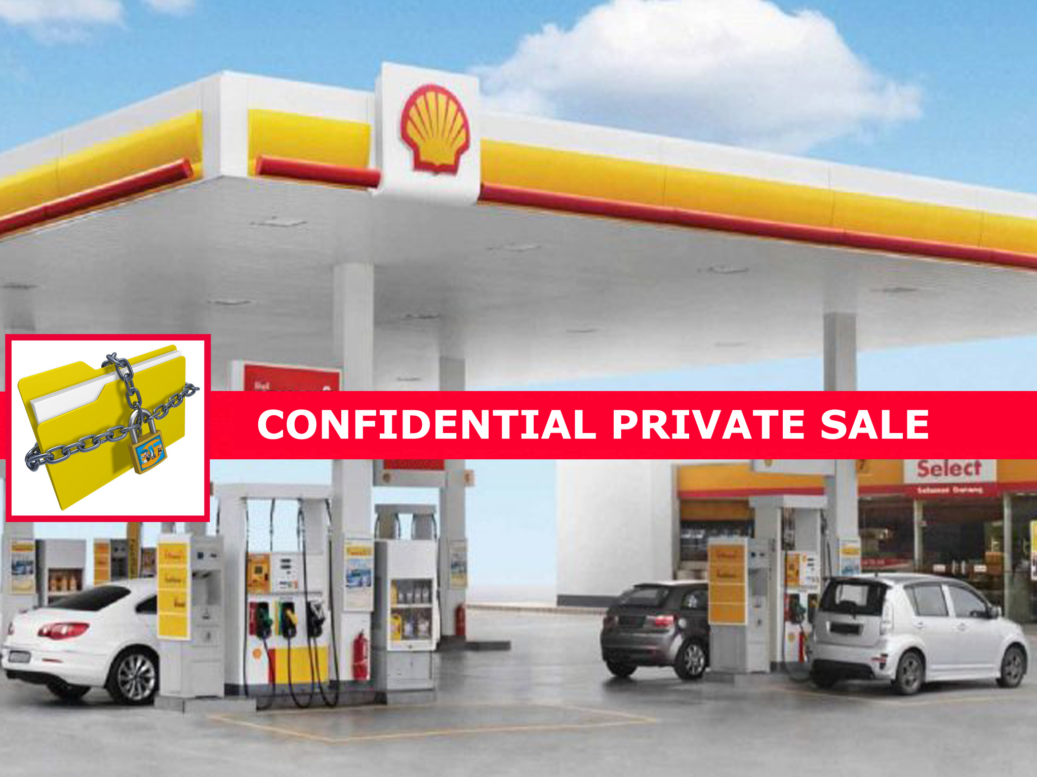 Newly Remodeled Shell Gas Station! | BIZ Builder Com