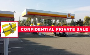 South Orange County – Shell Gas Station With Land!