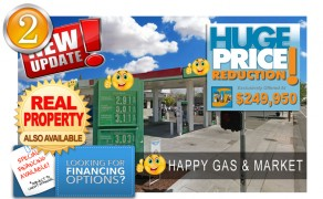 Unbranded Gas Station Market For Sale!