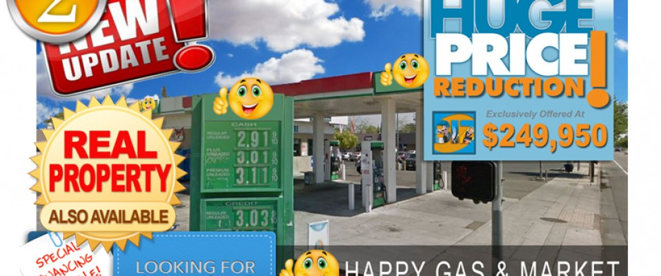 Unbranded Gas Station Market For Sale!