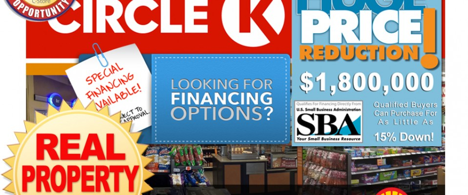 Shell Property With Circle K Newly Remodeled!