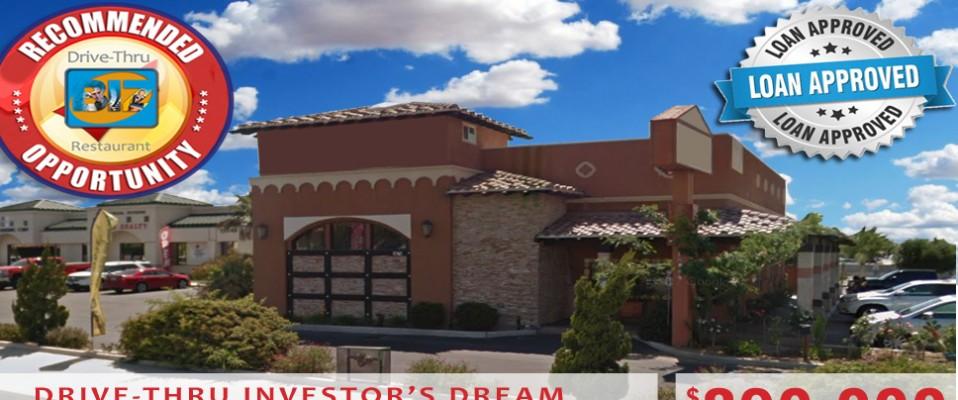 Drive-Thru Investor's Dream Property!