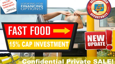 San Diego Country Drive-Thru ~ Solid CAP Investment!