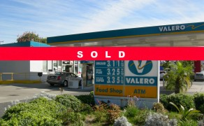 Valero Gas Station With Real Estate Whittier, CA