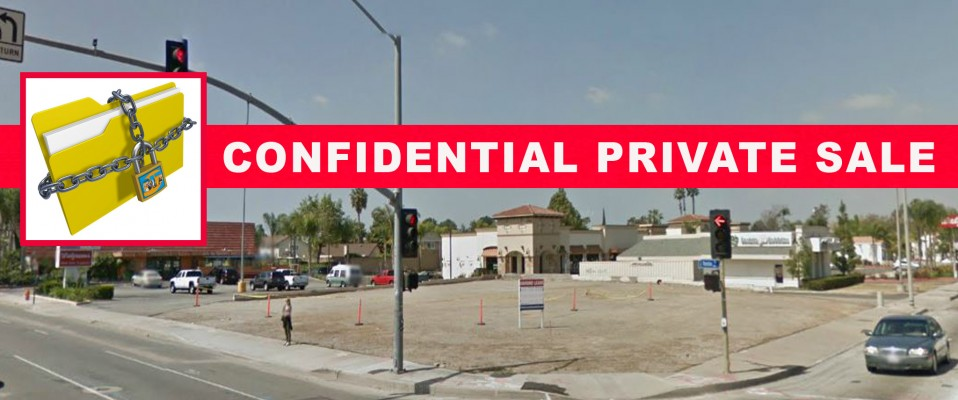 Commercial Land Use Vacant Corner Lot!