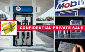 Brand New Mobil Station Circle K + Real Estate!